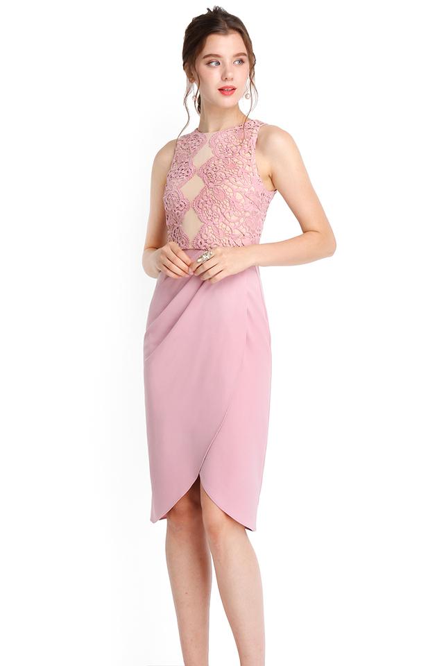Cleopatra Dress In Dusty Pink