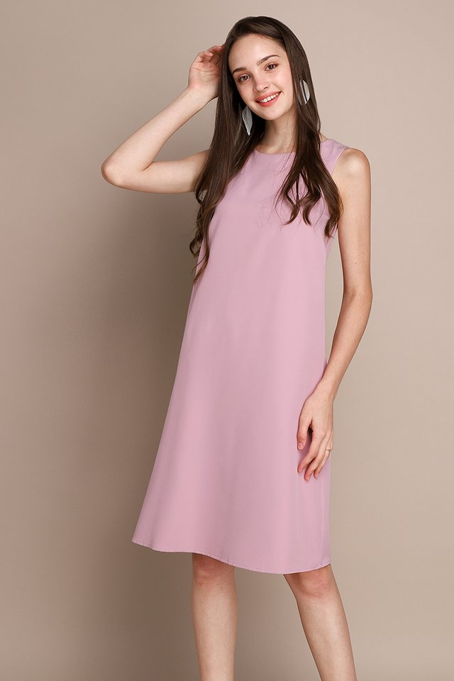 Back In The Limelight Dress In Pink Rum