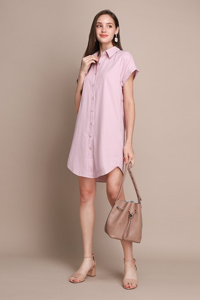 Holiday Favourite Dress In French Pink