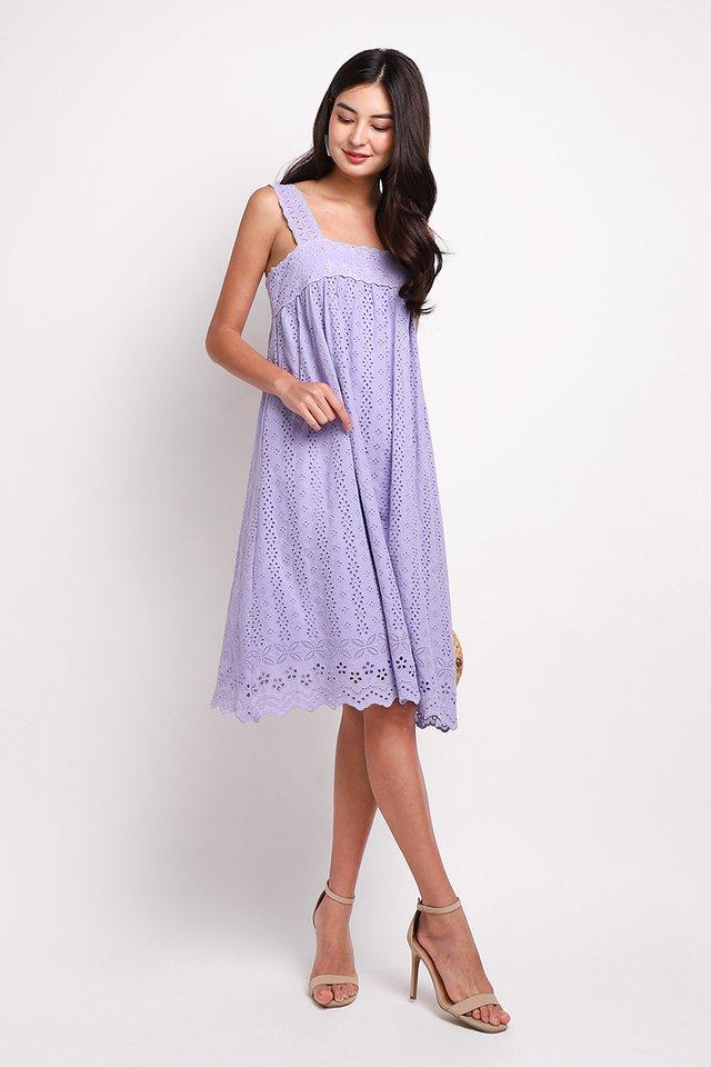 A True Romantic Dress In Soft Lilac
