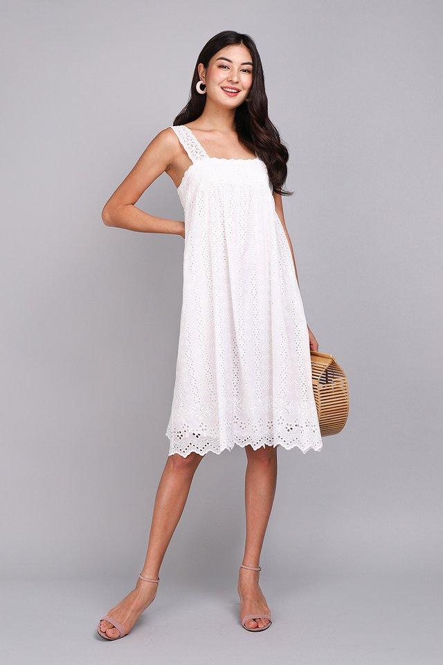 A True Romantic Dress In Classic White