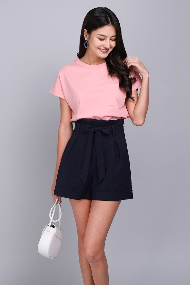 Nora Top In Candy Pink