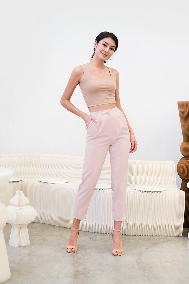 Andre Pants In Powder Pink