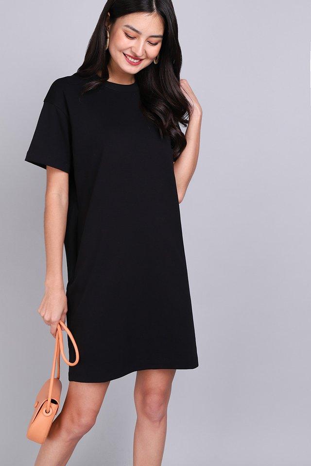 River Dress In Classic Black
