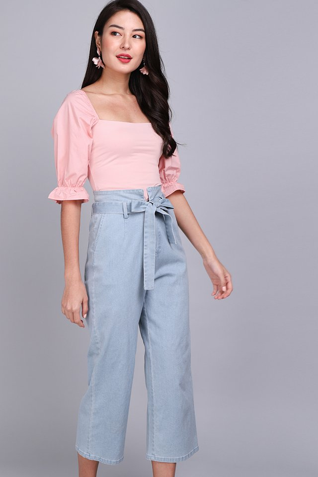 Kylie Top In Soft Pink