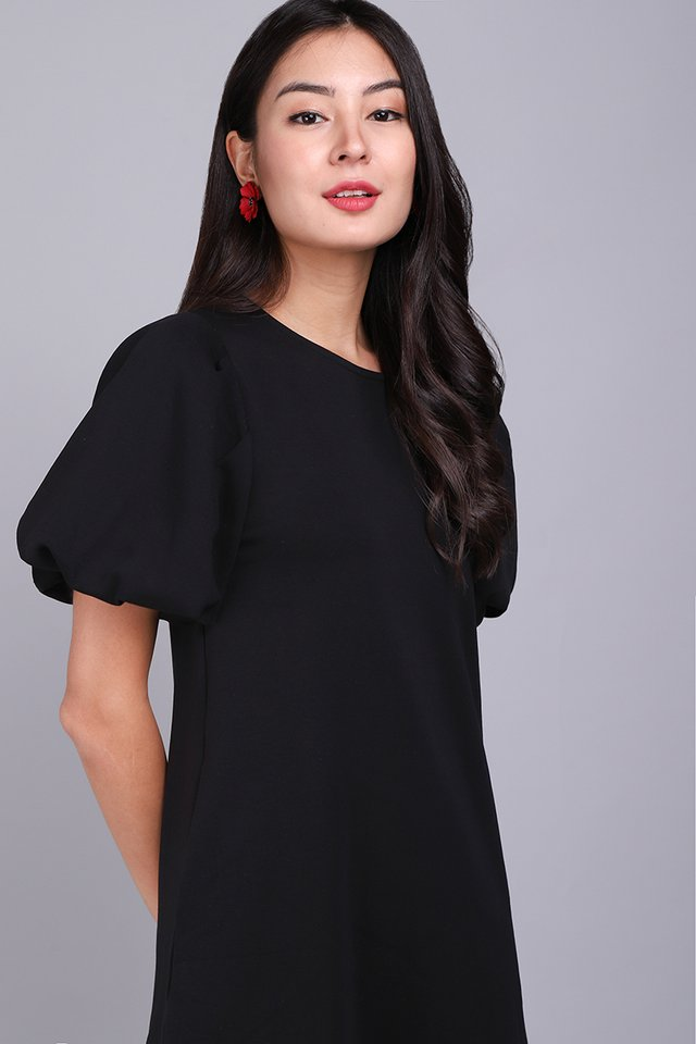 [BO] Myra Dress In Classic Black