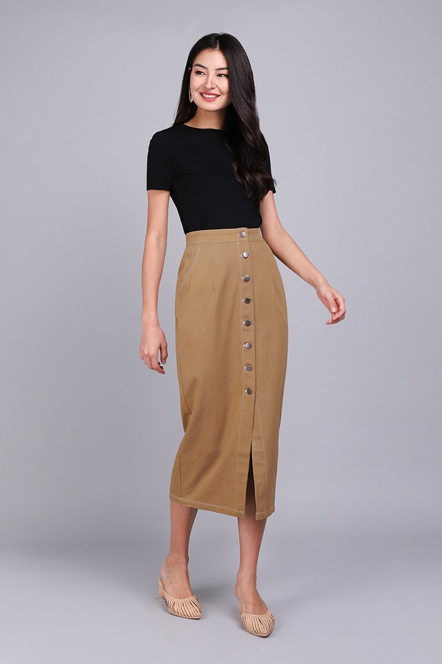 [BO] Alexander Skirt In Camel