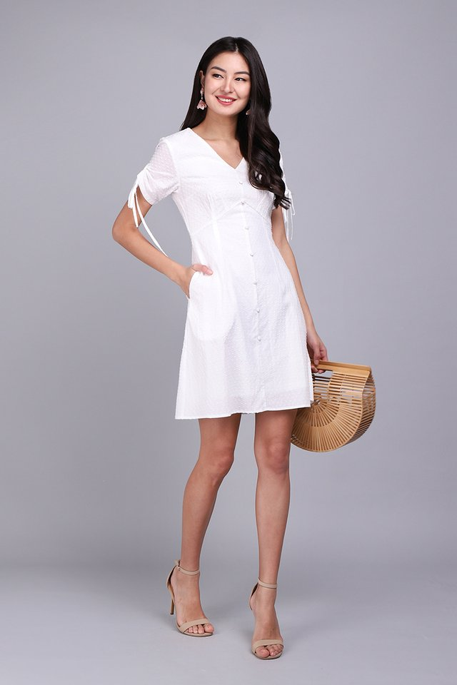 Summer Enchantment Dress In Classic White