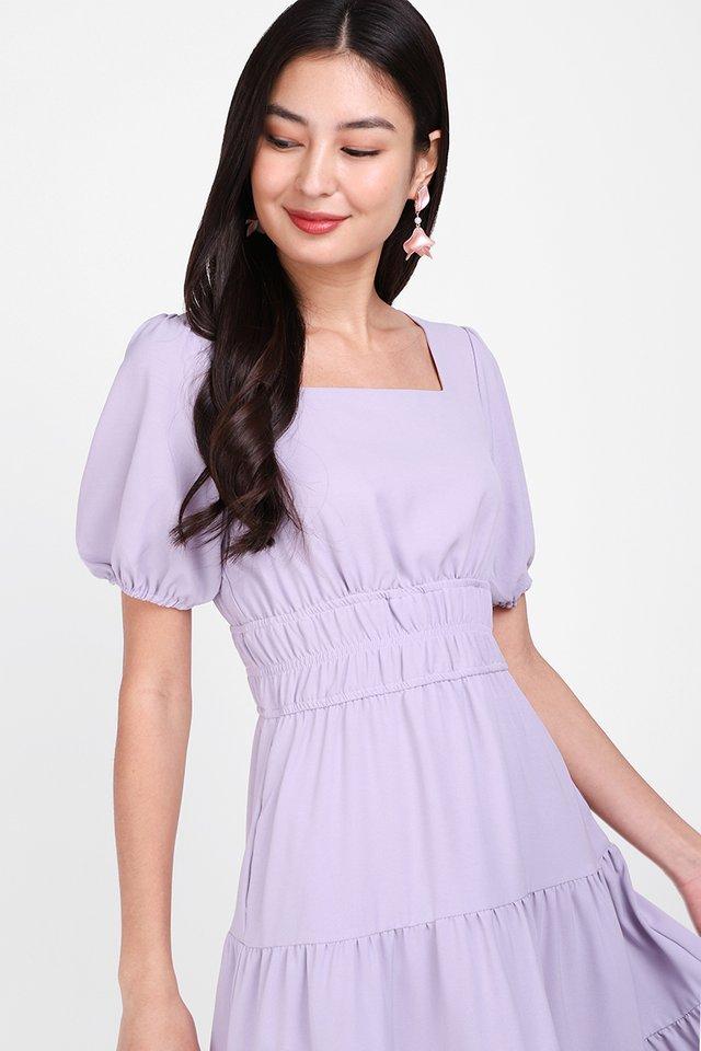 An Eternal Romance Dress In Lavender