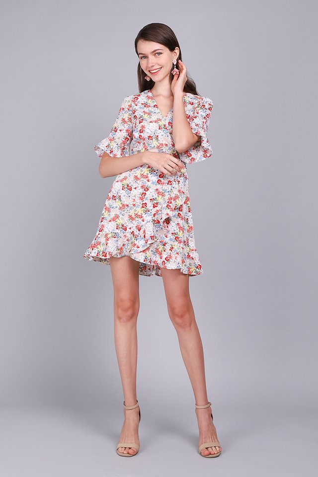 America Hearts Dress In Garden Florals