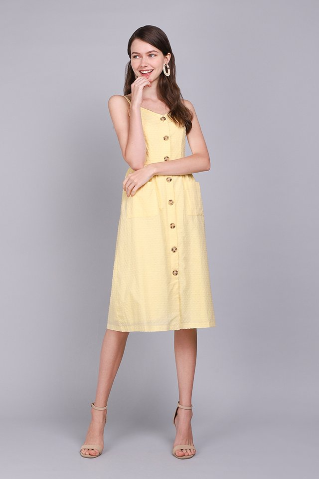 Dressing For Sunshine Dress In Sunshine Yellow