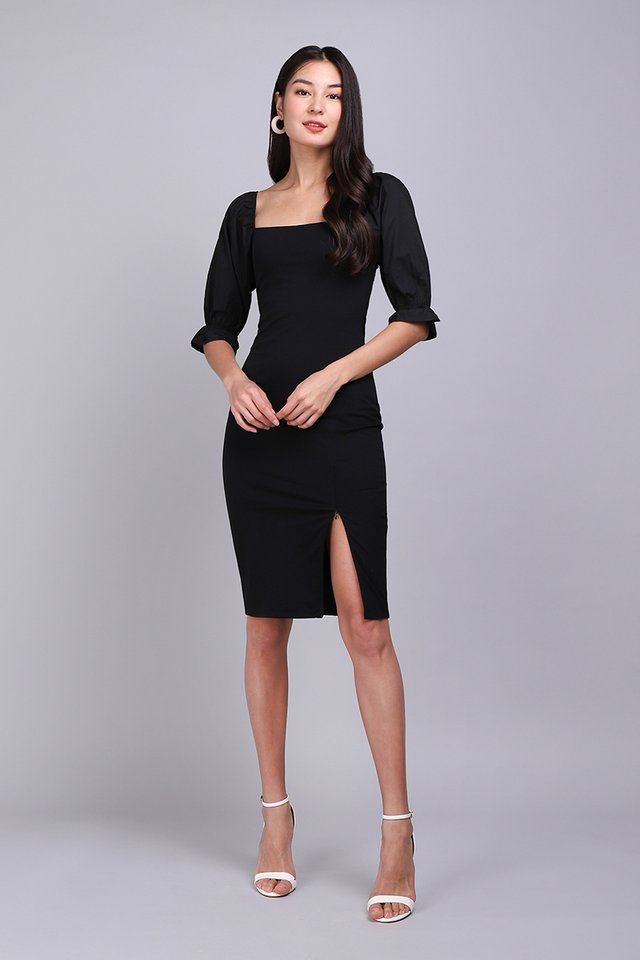 [BO] Sasha Dress In Classic Black