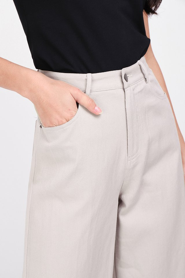 [BO] Charlie Culottes In French Grey