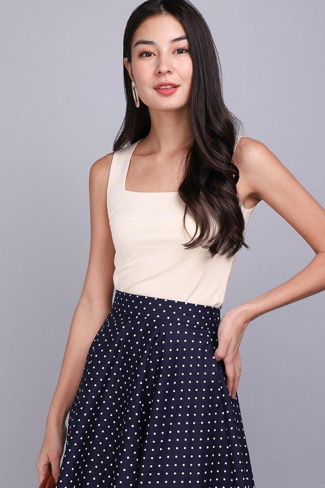 [BO] Tiffany Top In Soft Cream