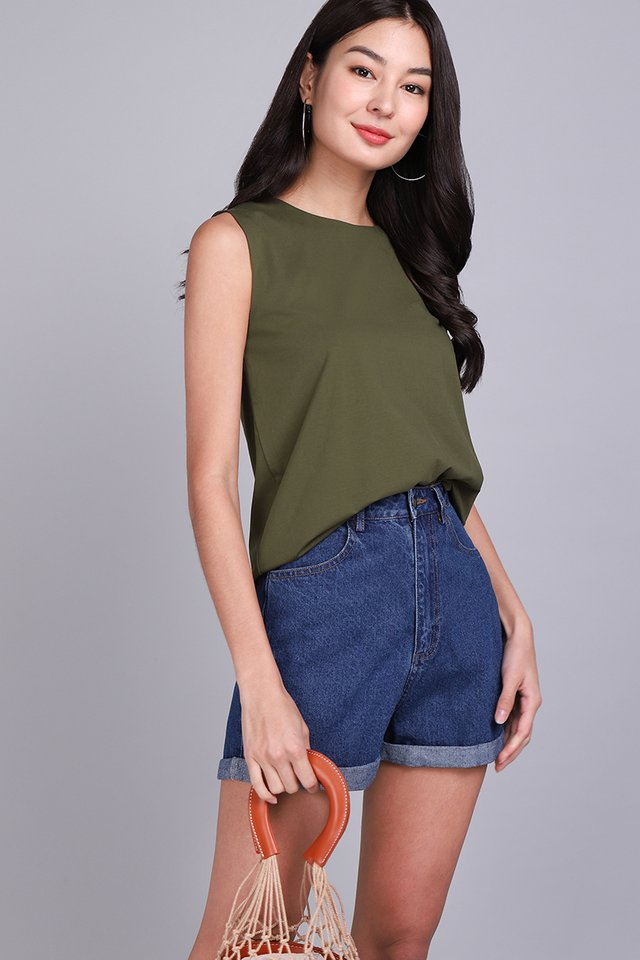 [BO] Hunter Top In Olive Green