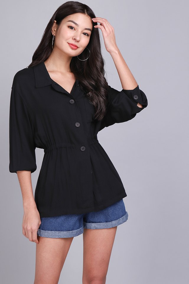 Easy Does It Top In Classic Black