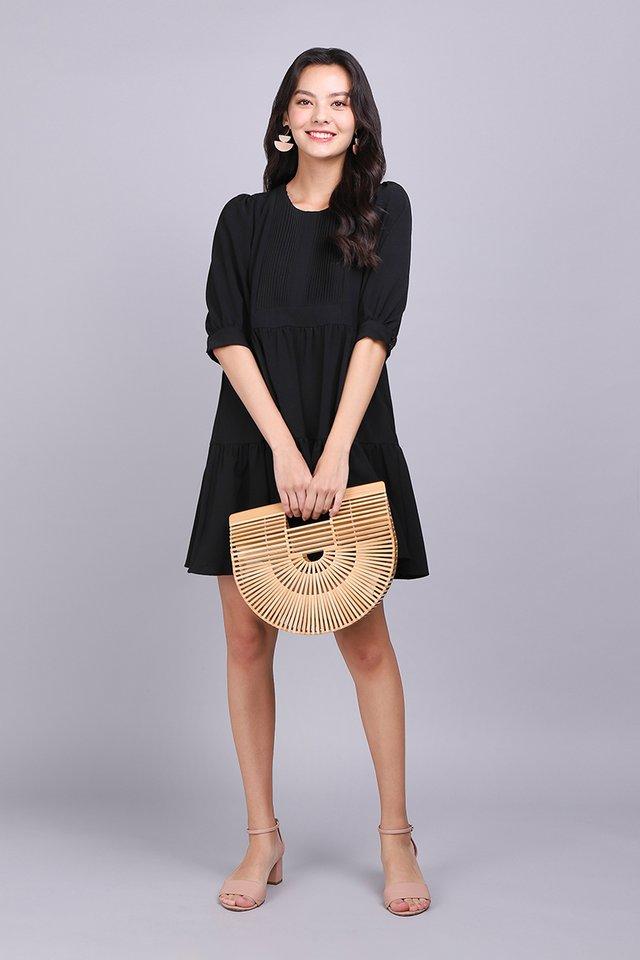 Spirited Away Dress In Classic Black