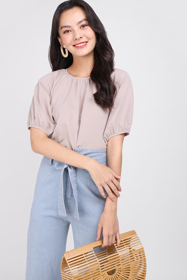 Tranquil Mood Top In Nude