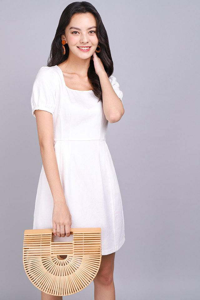 My One And Only Dress In Classic White