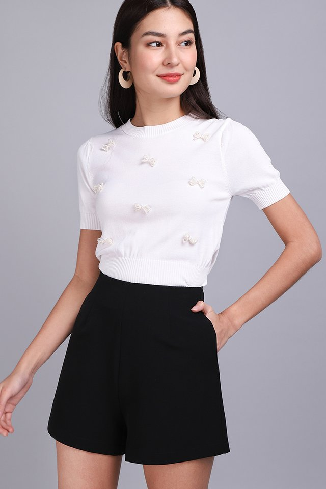 Once Upon A Time Top In Classic White