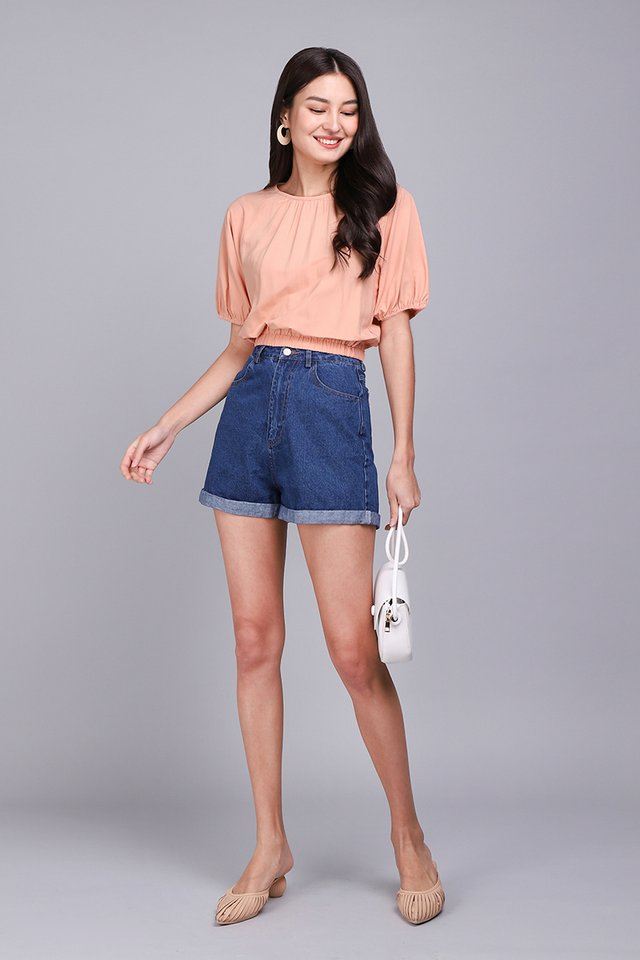 Everything Is Awesome Top In Apricot