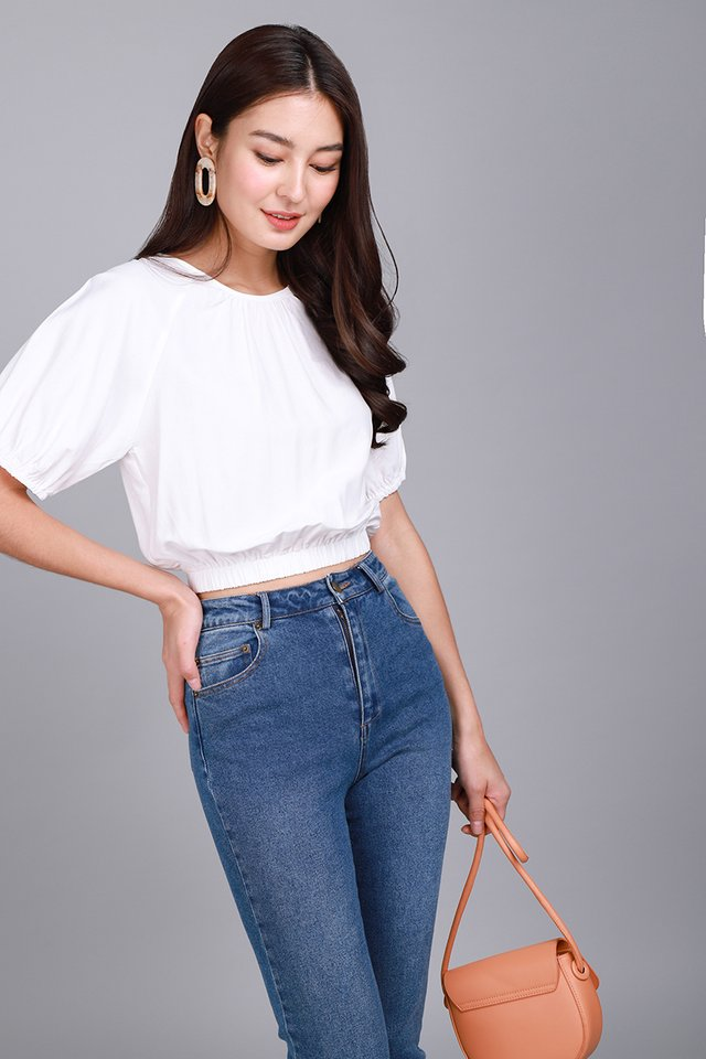 Everything Is Awesome Top In Classic White
