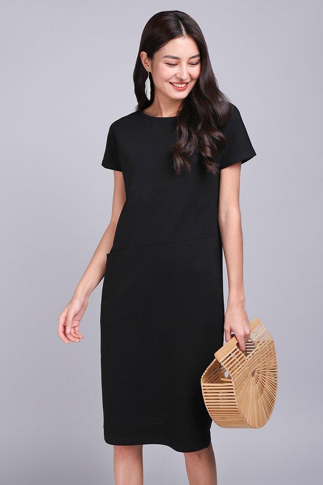 Sidney Dress In Classic Black