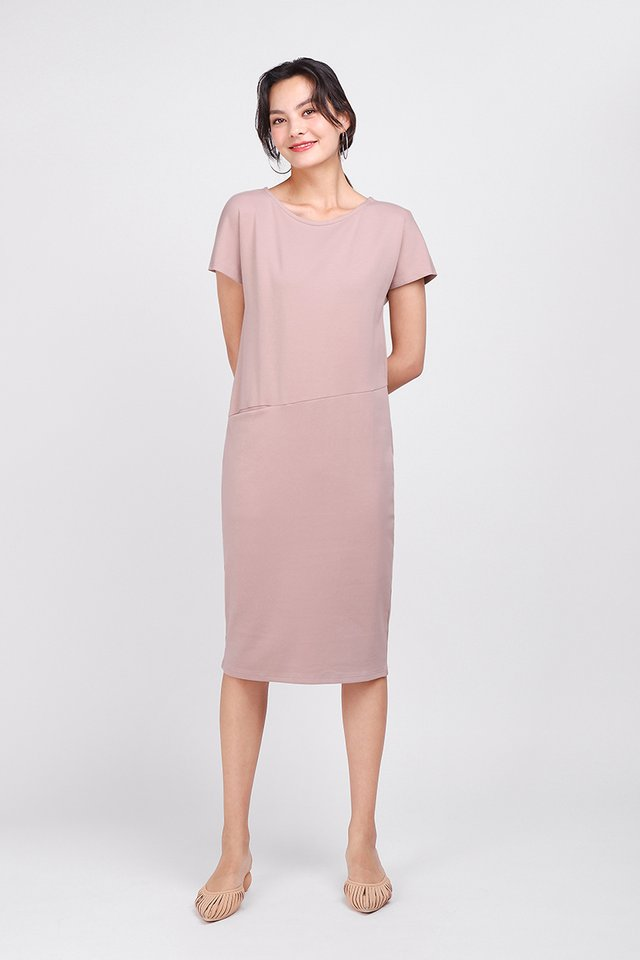 Sidney Dress In Dusty Lavender