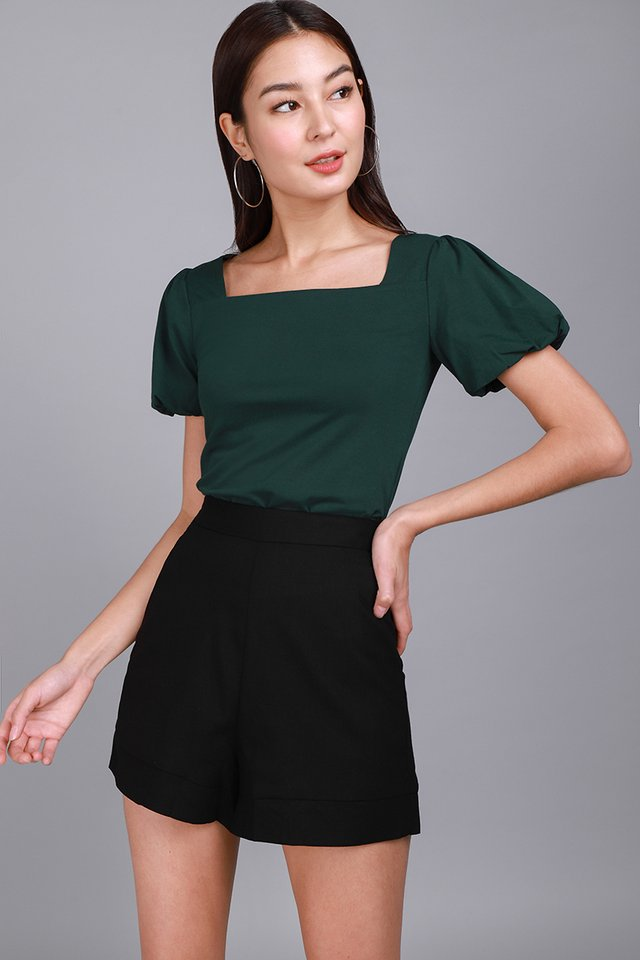 Ariel Top In Forest Green