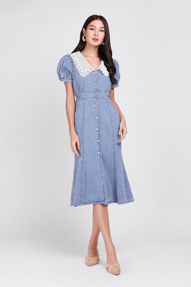 [BO] Sprightly Morning Dress In Light Wash