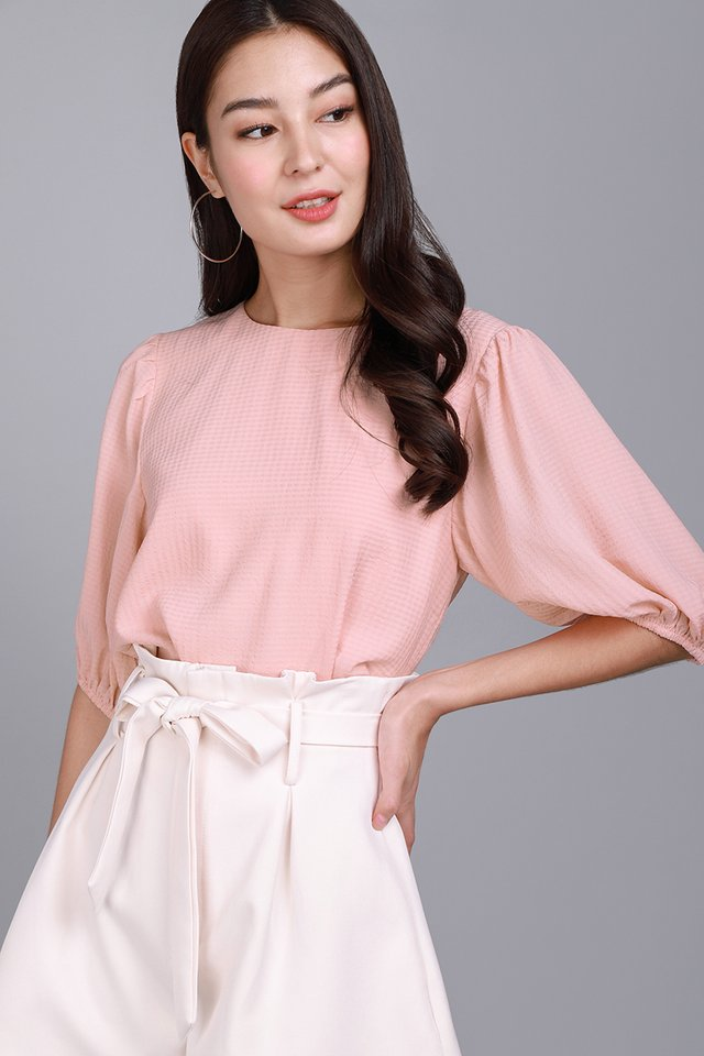 Beautiful Life Top In Soft Pink