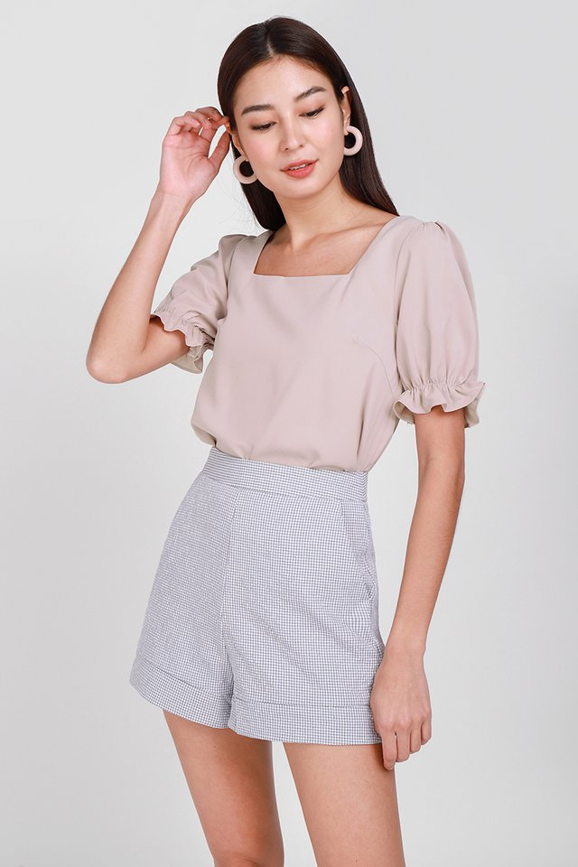 Lighthearted Soul Top In Nude