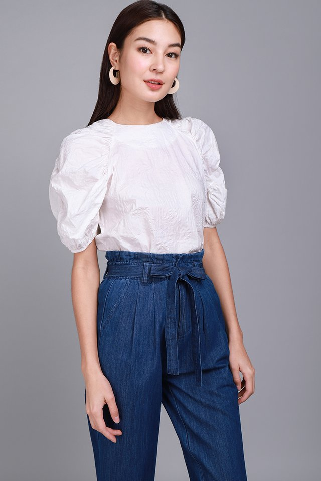 Dash Of Chic Top In Classic White