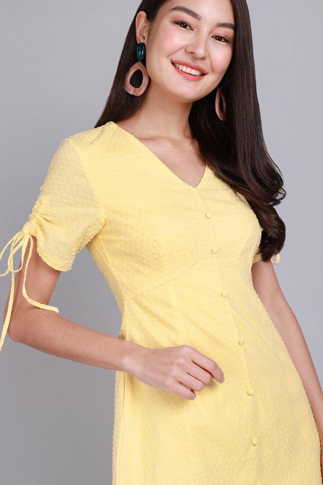 Summer Enchantment Dress In Sunshine Yellow