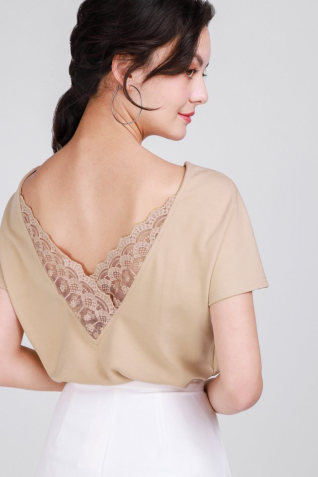 Diana Top In Sand