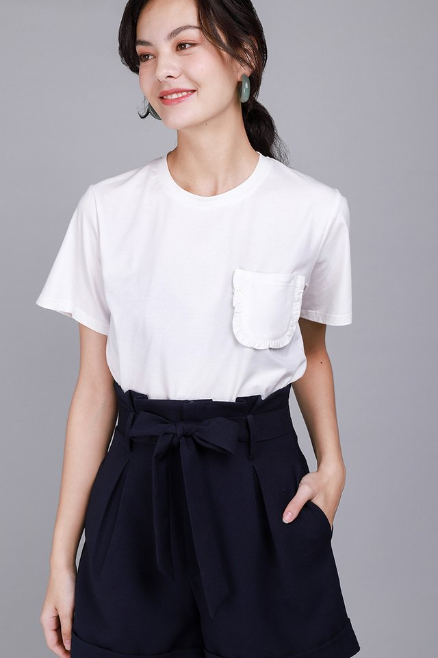 Ashley Top In Classic White