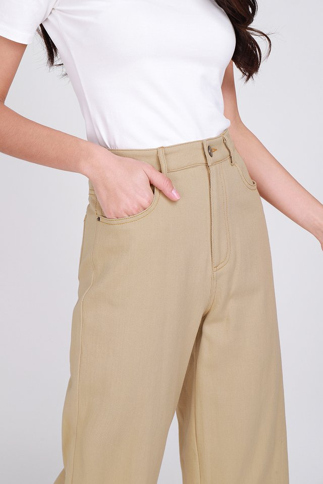 Charlie Culottes In Camel Sand