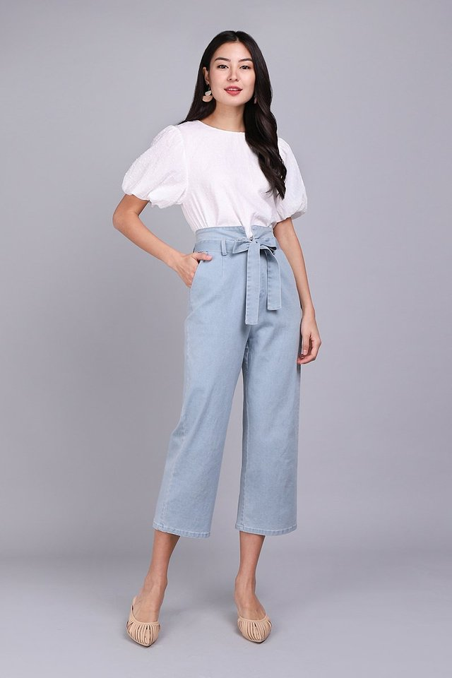 Cruise Along Pants In Light Wash