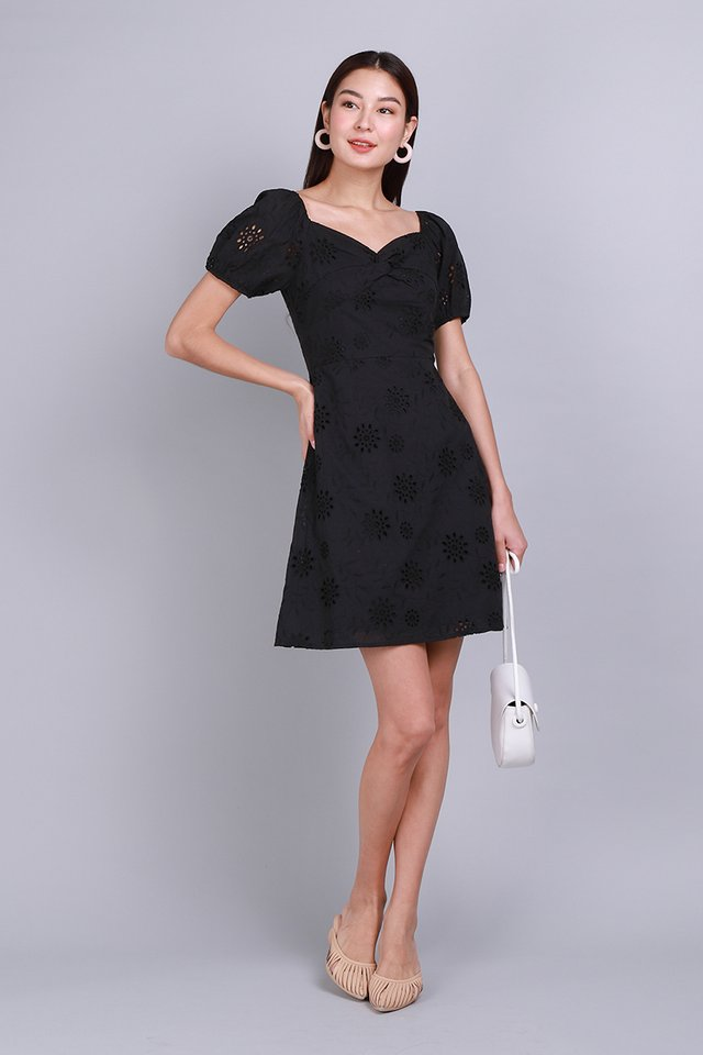 Bring Your Own Sunshine Dress In Black