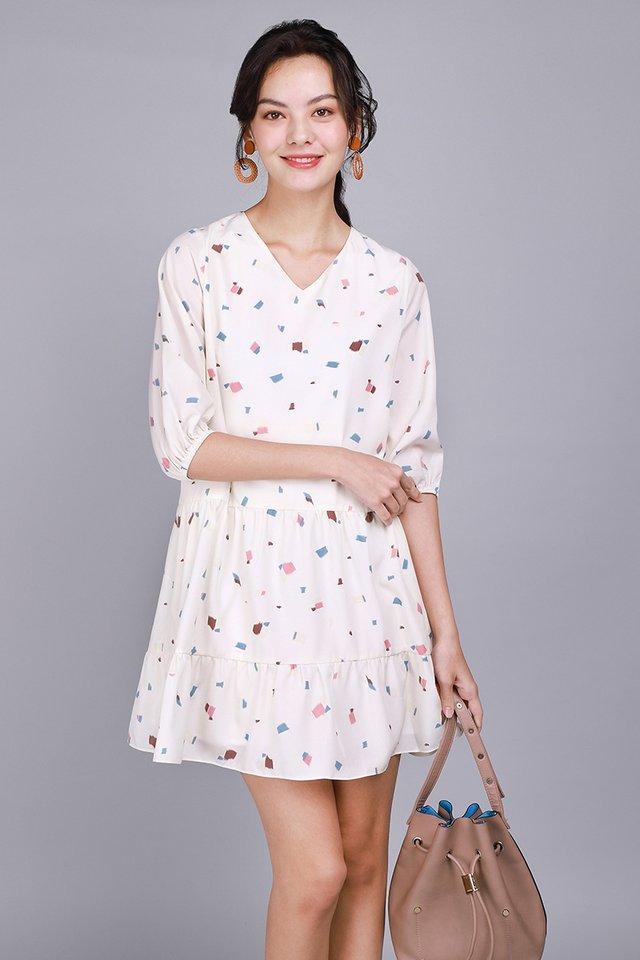 Sprinkle Of Confetti Dress In Prints