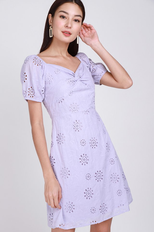 Bring Your Own Sunshine Dress In Lilac