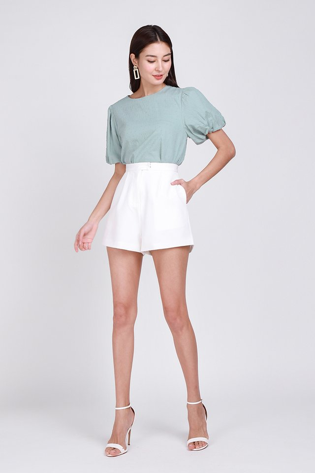 Maia Top In Sage Green