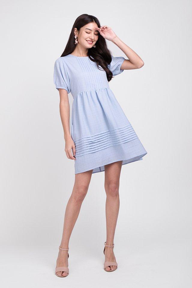 Alice On Prairie Dress In Sky Blue