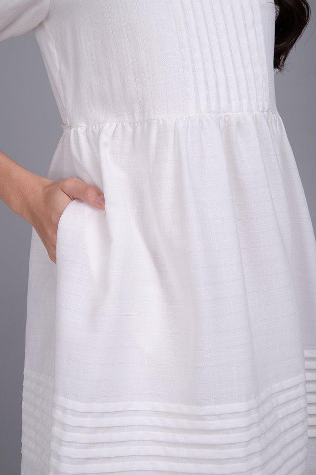 Alice On Prairie Dress In Classic White