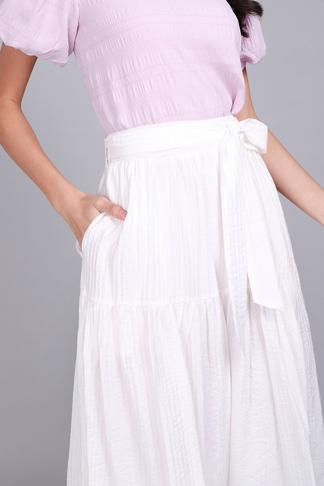 Way Through The Woods Skirt In Classic White