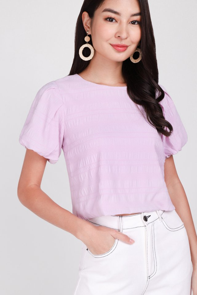 Tranquil Soul Top In Soft Pink