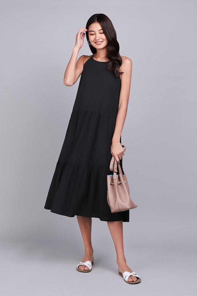 [BO] Garden Dance Dress In Classic Black