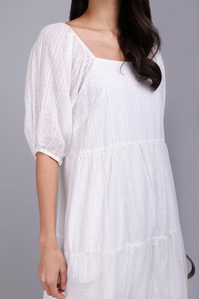 [BO] Bohemian Princess Dress In Classic White
