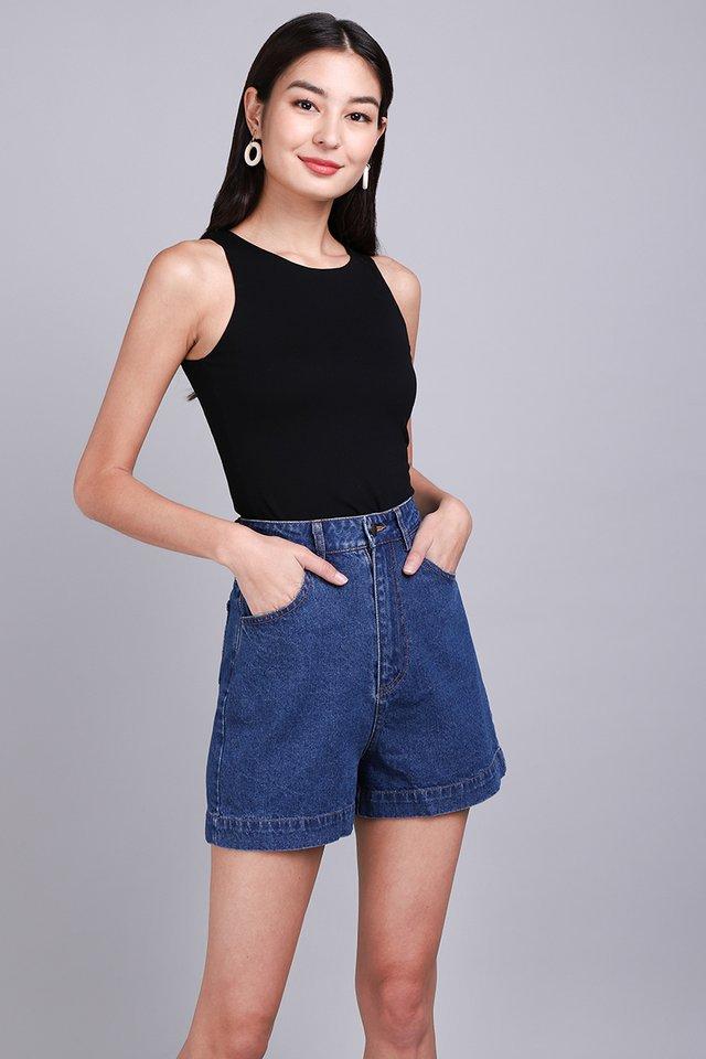 Kingston Shorts In Dark Wash