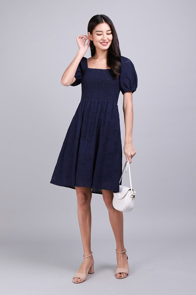 [BO] And Most Of All Dress In Navy Blue